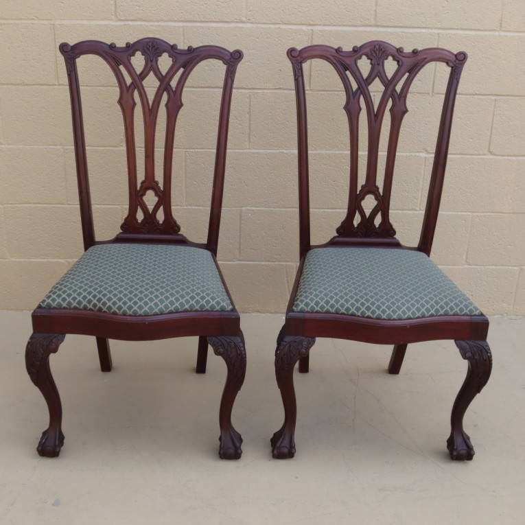 Adjustable Chippendale Chairs With Solid Strong Source With Fascinating Design For Living Room Ideas