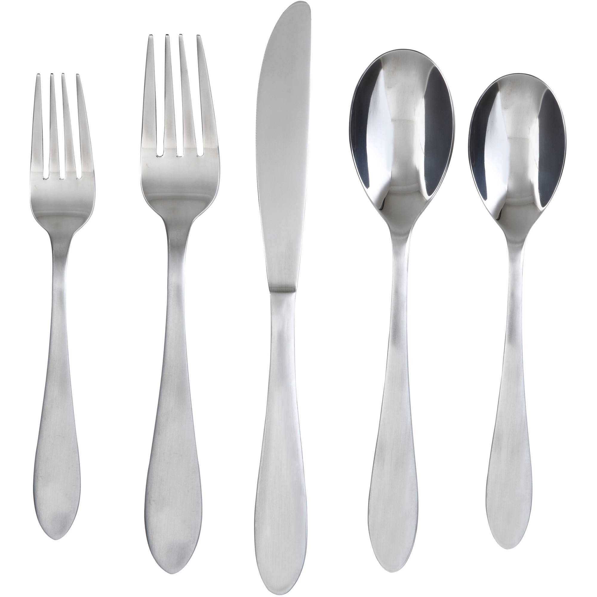 Admirable Cambridge Flatware 5 Pcs Silverware Flatware For Kitchen Or Dining Ideas