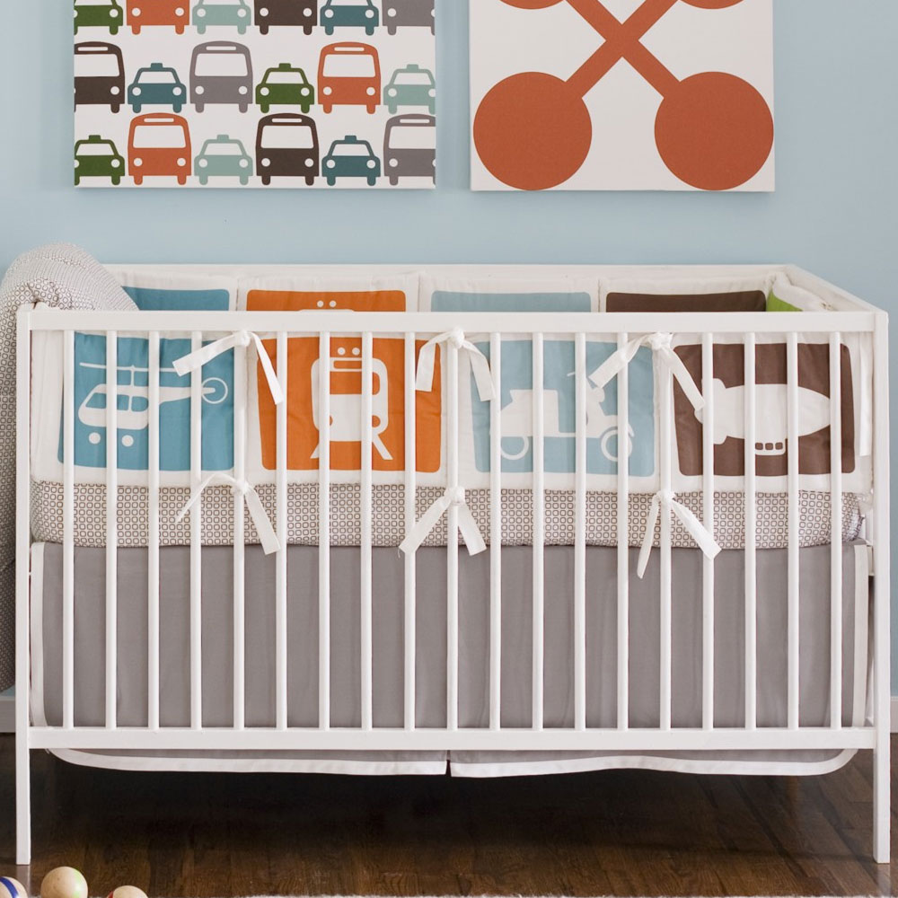 Admirable dwellstudio baby crib bedding with beautiful wall decorating