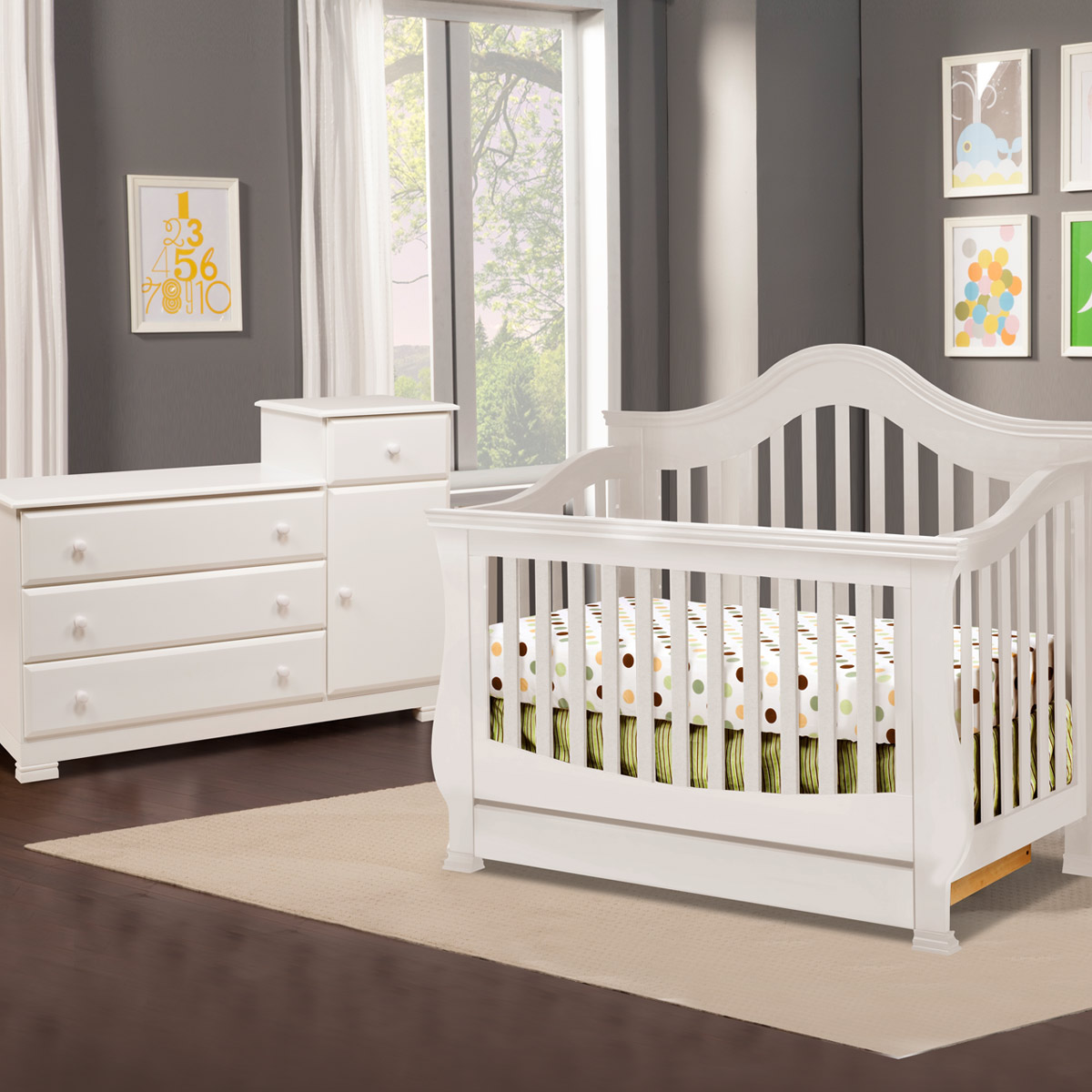 Admirable white baby cribs and area rugs plus laminate flooring simplybabyfurniture