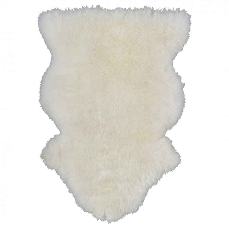 Admirable White Fur Rug With Best Wooden Laminate Flooring And Sofa Chairs For Living Room Ideas