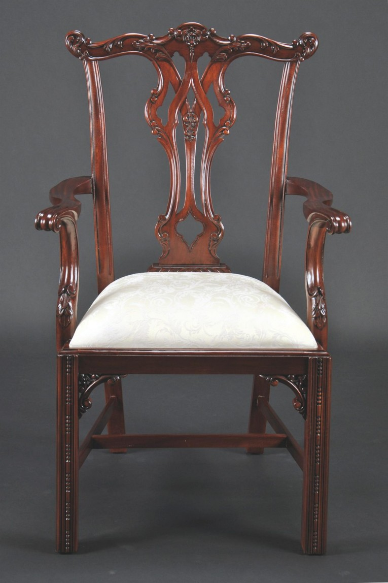 Adorable Chippendale Chairs With Solid Strong Source With Fascinating Design For Living Room Ideas