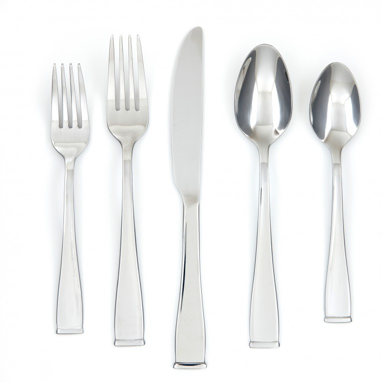 Adorable Cambridge Flatware 5 Pcs Silverware Flatware For Kitchen Or Dining Ideas