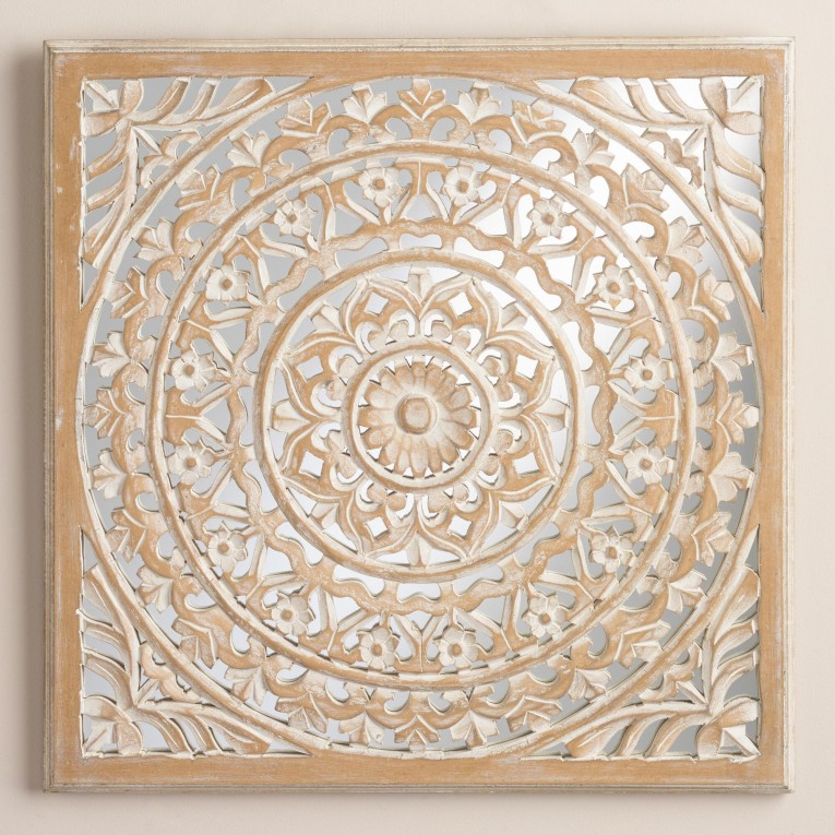 Adorable Wall Plaques With Antique Pattern Design For Wall Decorating Home Ideas
