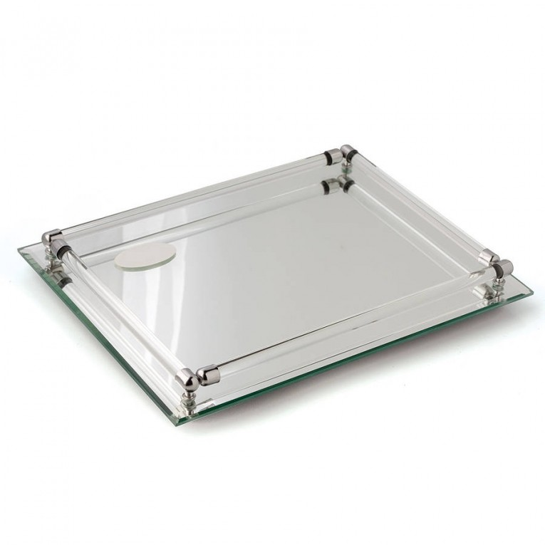 Adroable Design Mirror Tray With Modern Design