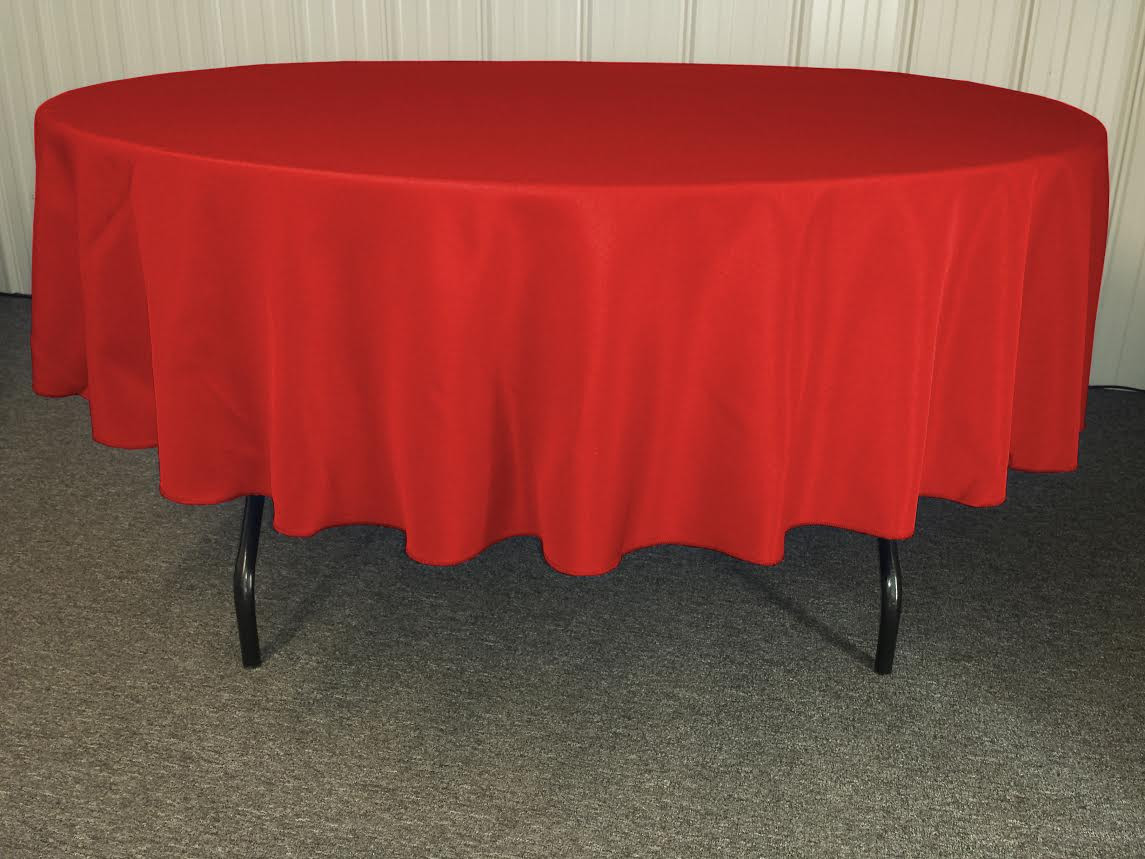 Interesting 90 Round Tablecloths with Unique Design for Home Furniture Ideas: Alluring Color 90 Round Tablecloths With Bright Interior Colors For Dining Room Furniture Ideas