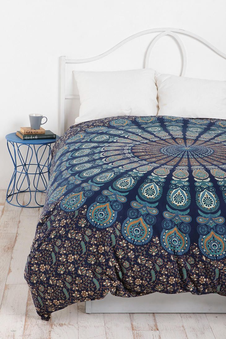 Amazing Queen And King Bed Size Bohemian Duvet Covers With Unique Pattern For Bed Room Furniture Ideas