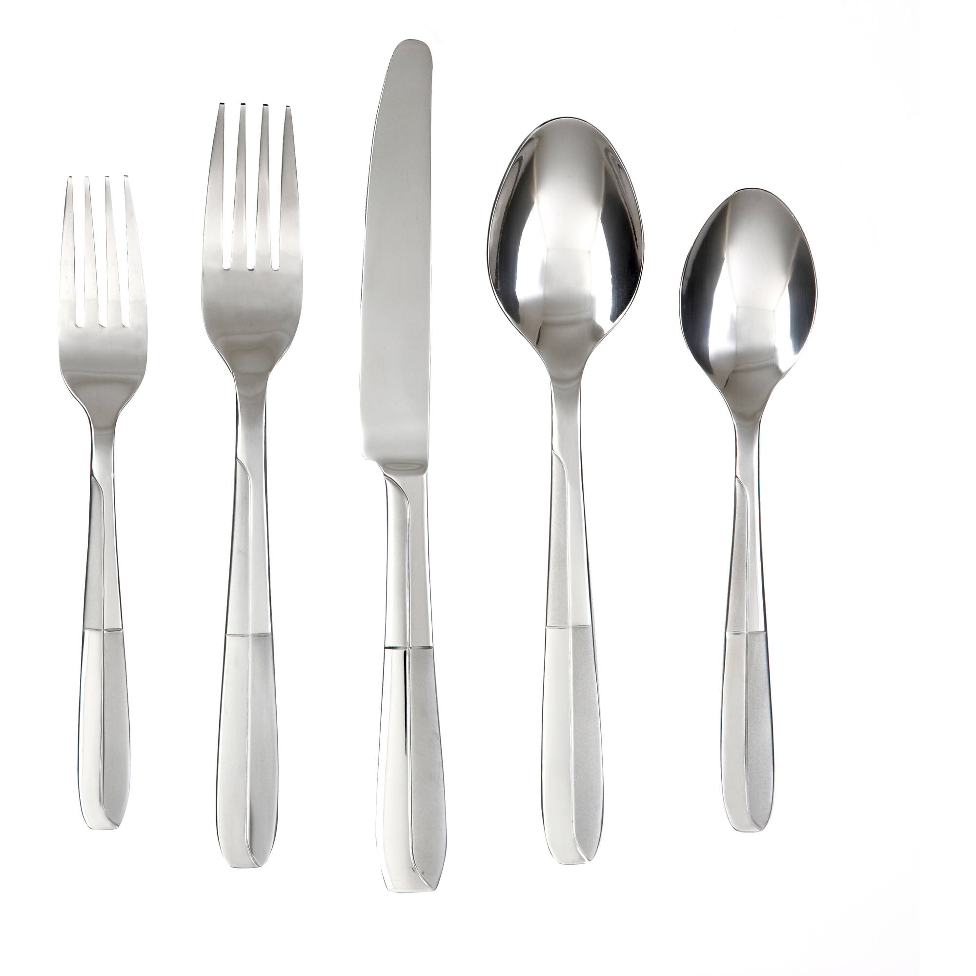 Amazing cambridge flatware 5 pcs silverware flatware for kitchen or dining Ideas