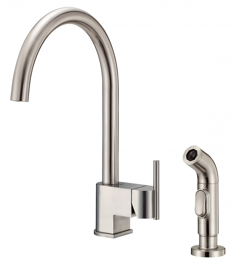 touch brushed amazon faucet parma handle single faucets com on danze dp sink bathroom nickel lavatory