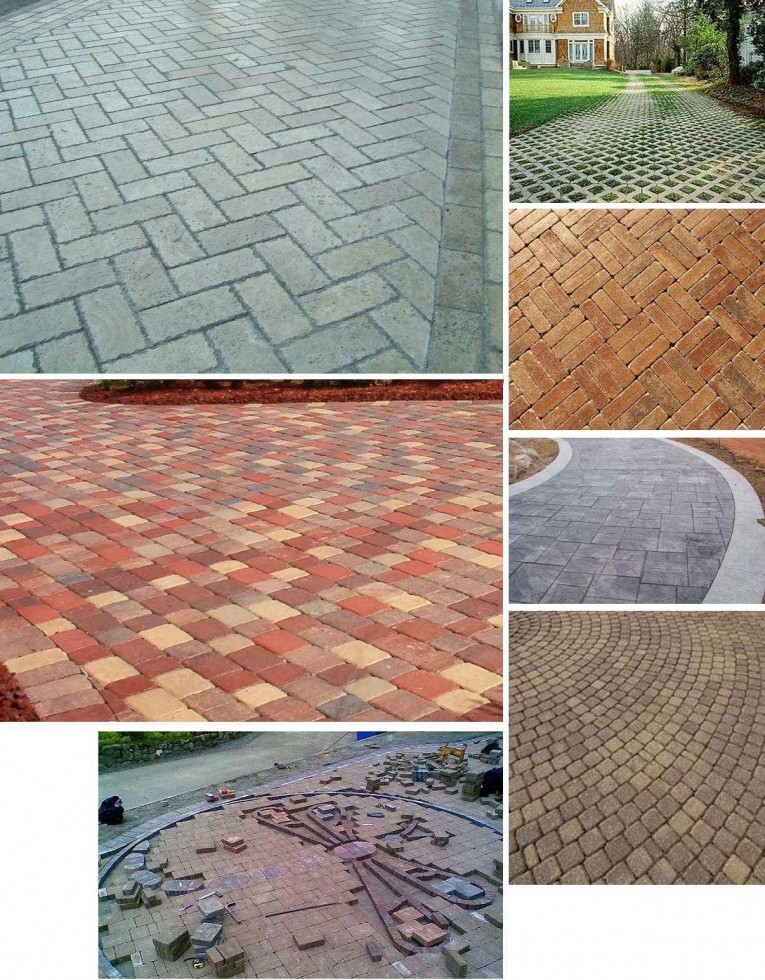 Amazing Pavers Home Depot For Outdoor Flooring Home Pavers