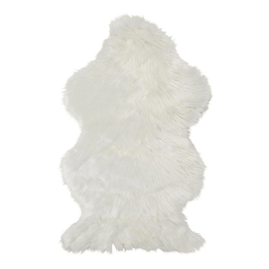 lambskin sheepskin pelt white rug fur l premium double soft genuine australian