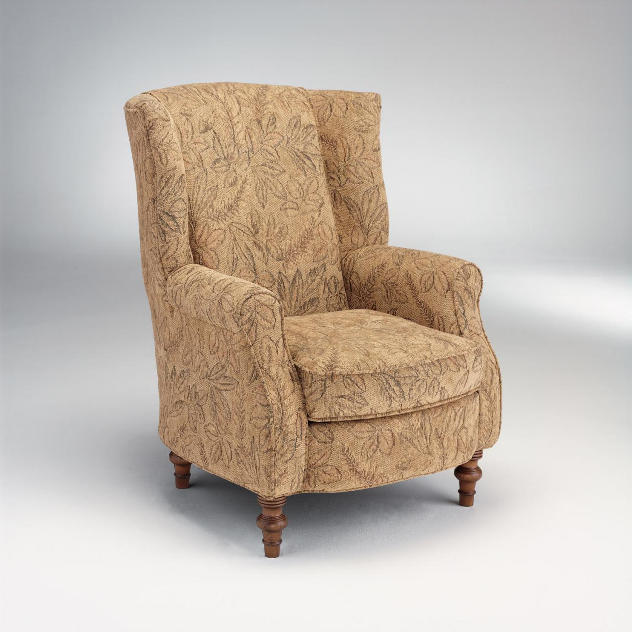Amazing wing back chair with Solid Strong wood Furniture Design for Dining chair and Living Room Chair Ideas