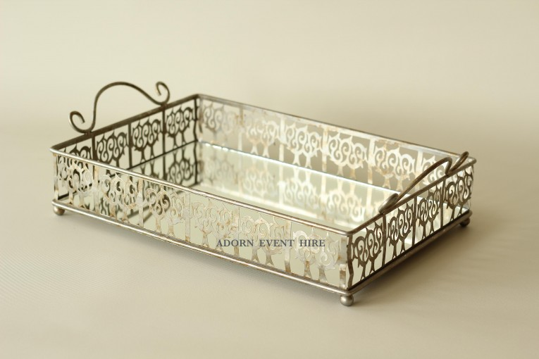 Amusing Design Mirror Tray With Modern Design