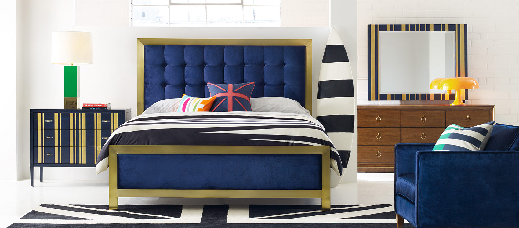 Astounding bedroom furniture sets from cynthia rowley home