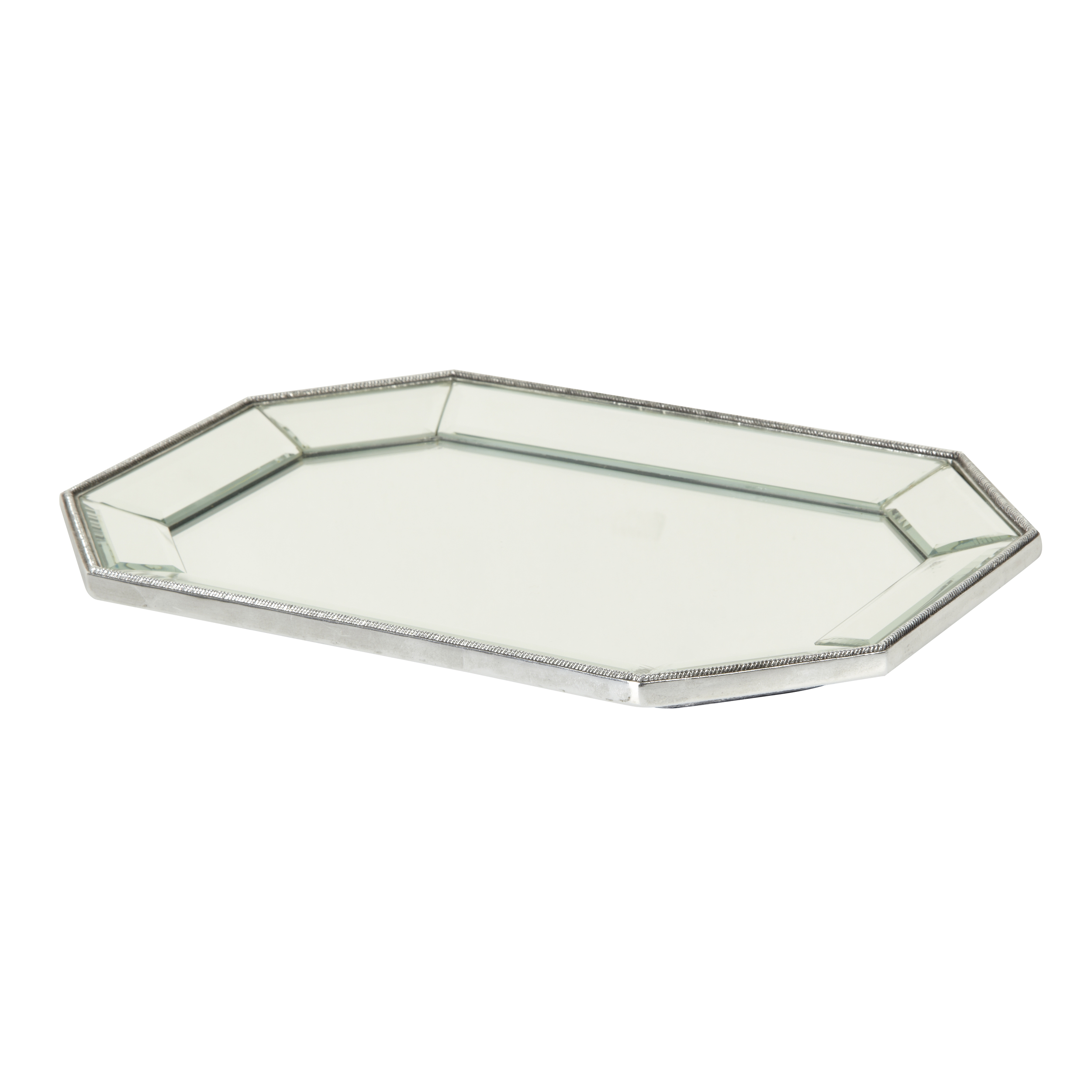 Astounding design mirror tray with modern design