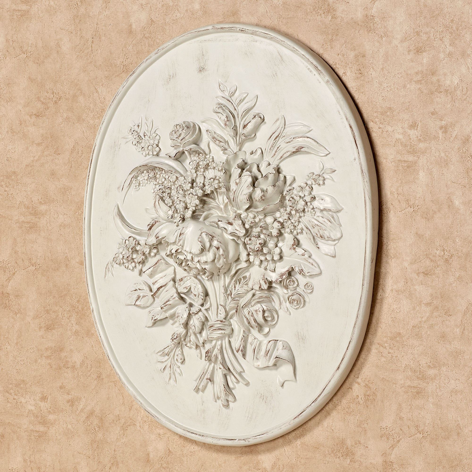 Astounding wall plaques with antique pattern design for wall decorating home ideas