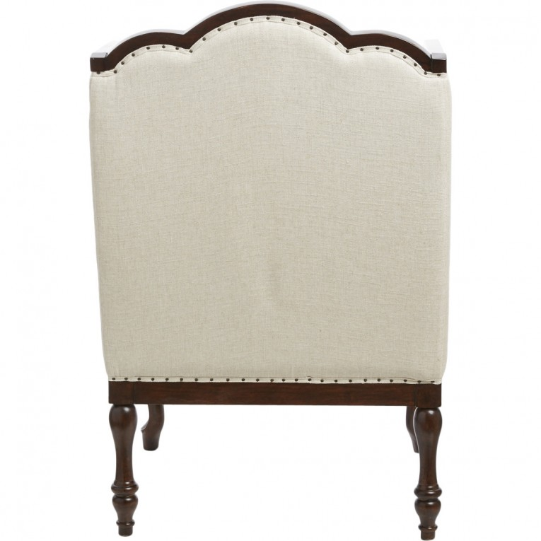 Astounding Wing Back Chair With Solid Strong Wood Furniture Design For Dining Chair And Living Room Chair Ideas