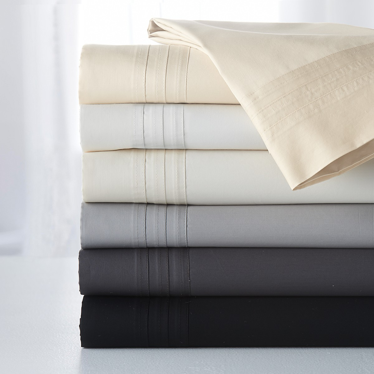 Attractive charisma sheets with assorted colors and softy sheets with Cheap Price