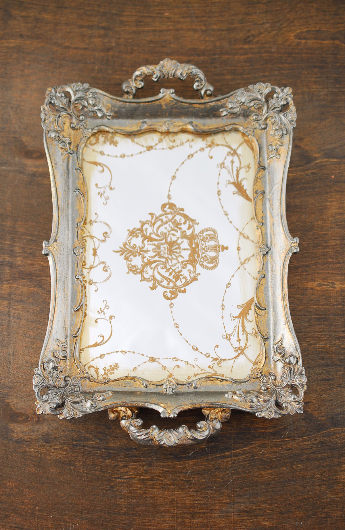 Attractive Design Mirror Tray With Modern Design