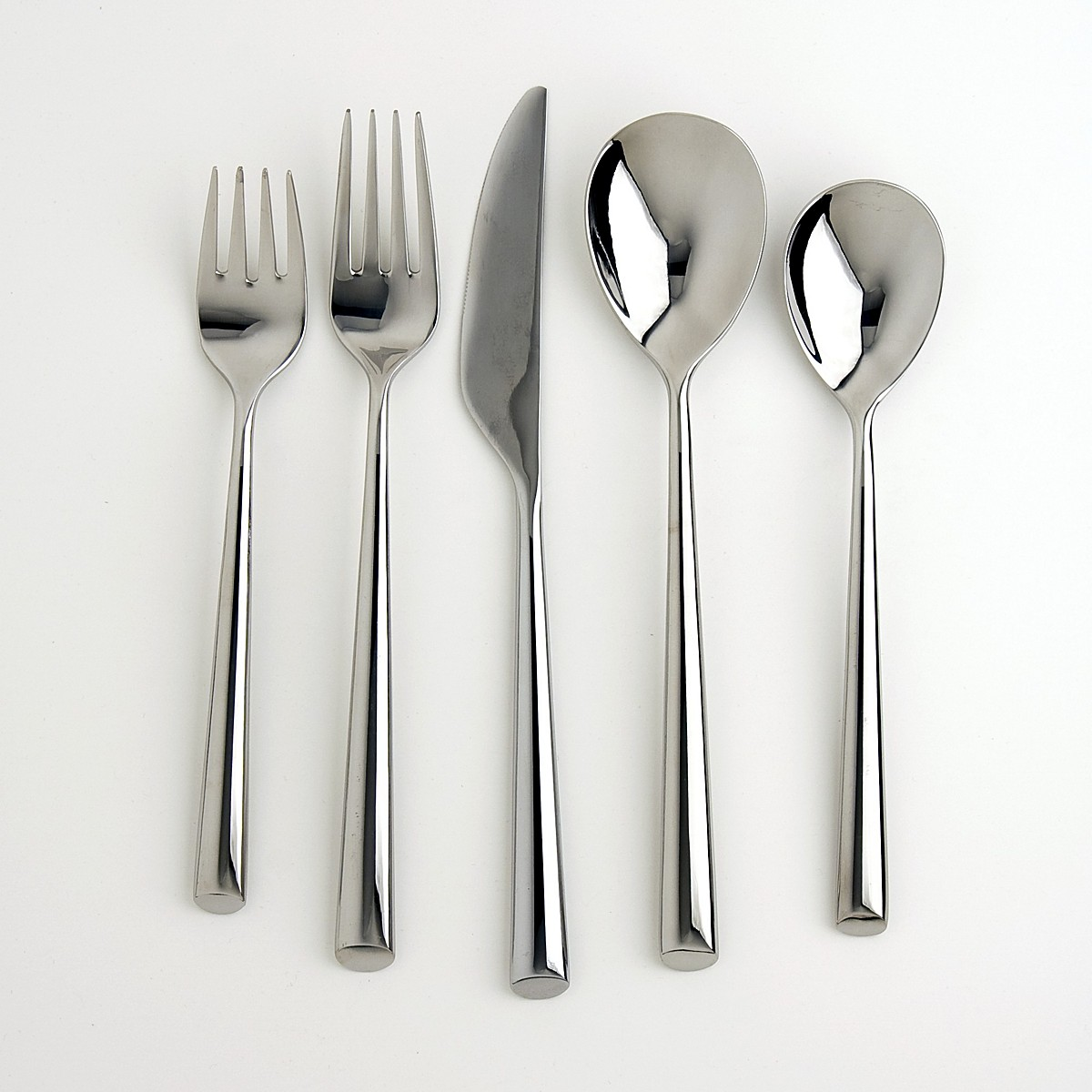 Awesome Cambridge Flatware 5 Pcs Silverware Flatware For Kitchen Or Dining Ideas