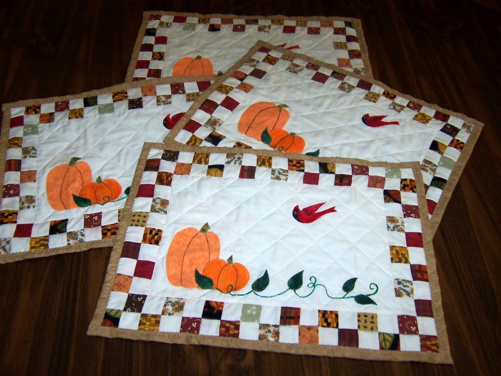 Awesome mat with variant colors quilted placemats combined decorative color pattern for flooring ideas