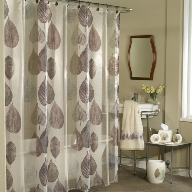 Beautiful Design Color Bathroom With Burlap Shower Curtain For Make Your Bathroom Interior More Awesome