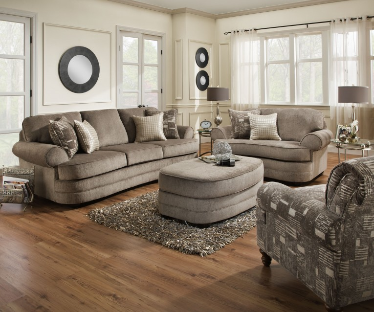 Best United Furniture Industrieswith Ottoman And Dresstable And Pillows Plus Nightlamps Combined With Coffee Table For Home Furniture Ideas