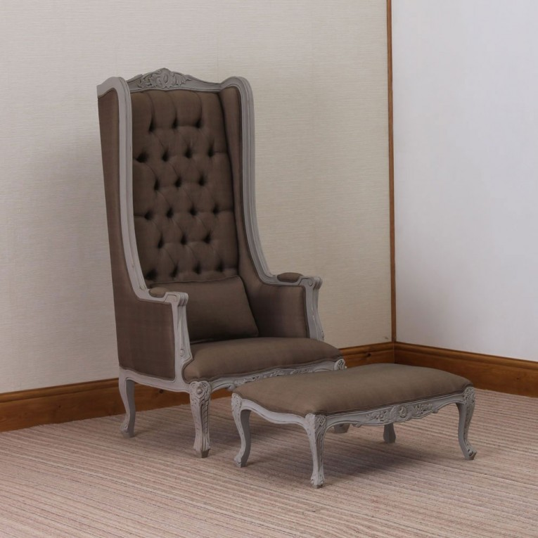 Breathtaking Wing Back Chair With Solid Strong Wood Furniture Design For Dining Chair And Living Room Chair Ideas