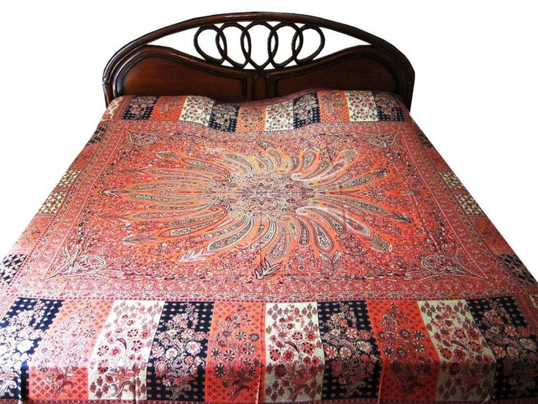 Brilliant Queen And King Bed Size Bohemian Duvet Covers With Unique Pattern For Bed Room Furniture Ideas