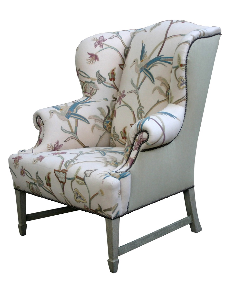 Brilliant wing back chair with Solid Strong wood Furniture Design for Dining chair and Living Room Chair Ideas