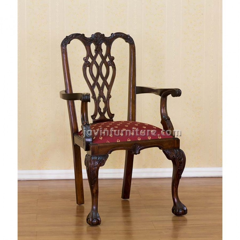Charming Chippendale Chairs With Solid Strong Source With Fascinating Design For Living Room Ideas