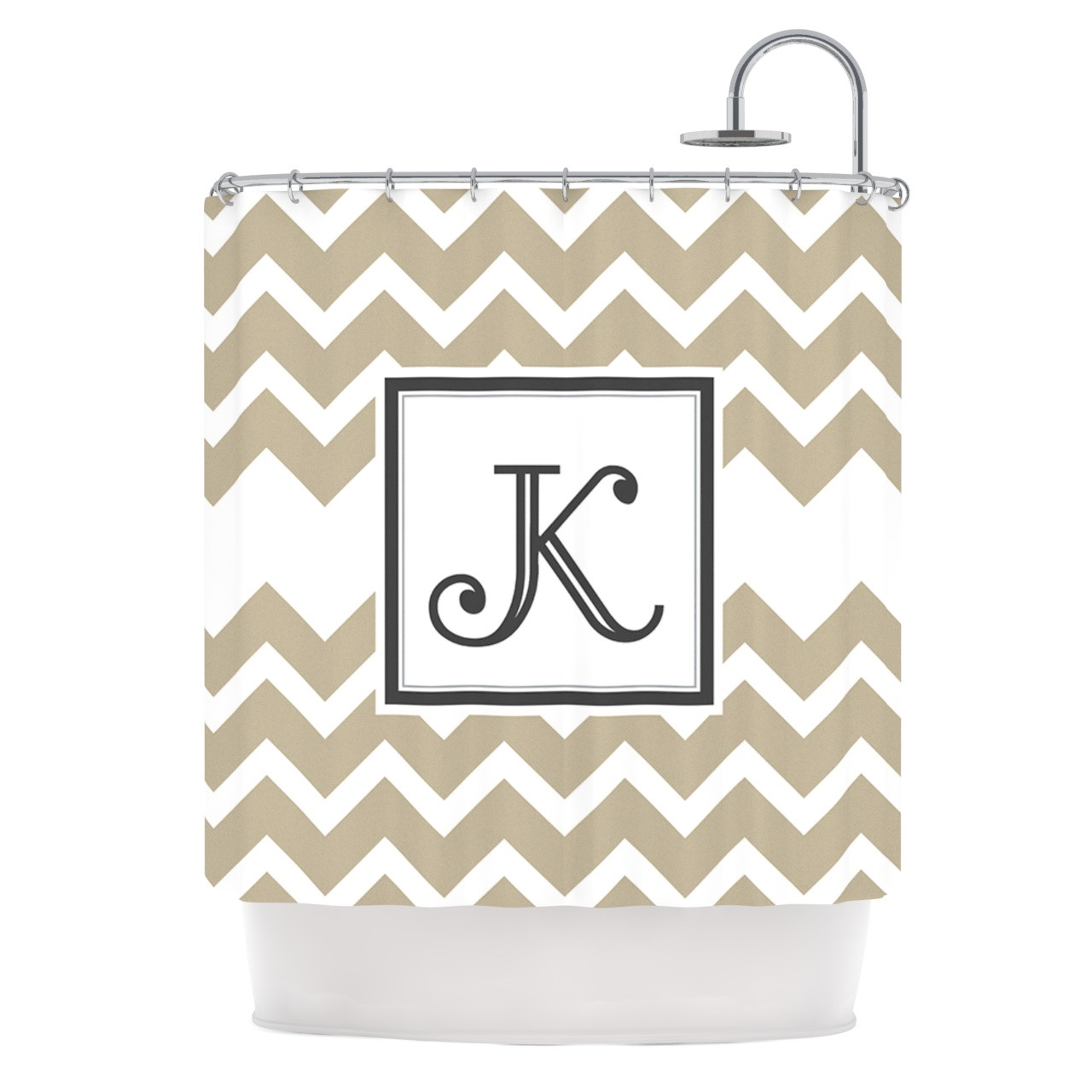 Cheap Design Monogrammed Shower Curtain With Best Combination Color Design And Pattern Ideas