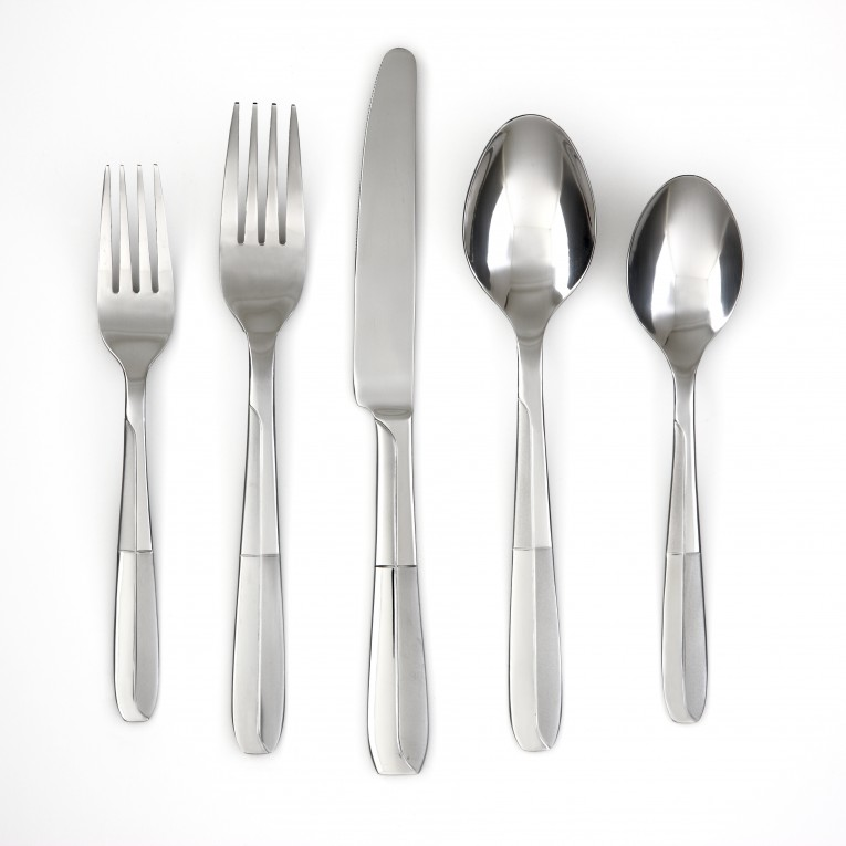Chic Cambridge Flatware 5 Pcs Silverware Flatware For Kitchen Or Dining Ideas