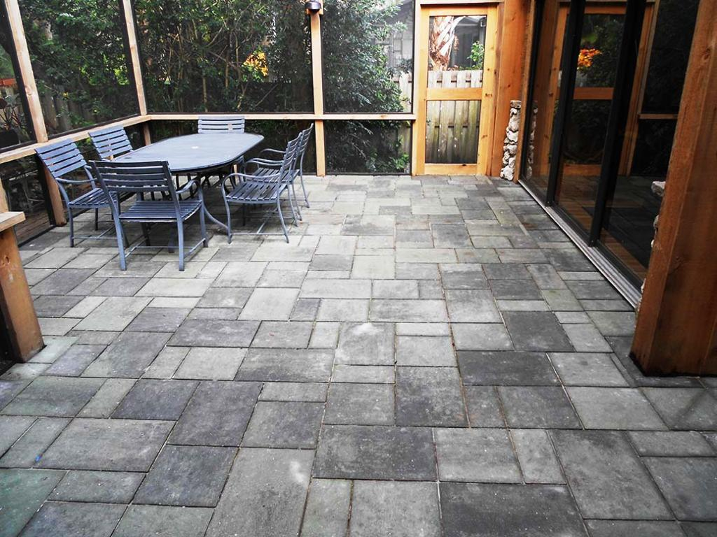 Chic pavers home depot for outdoor flooring home pavers