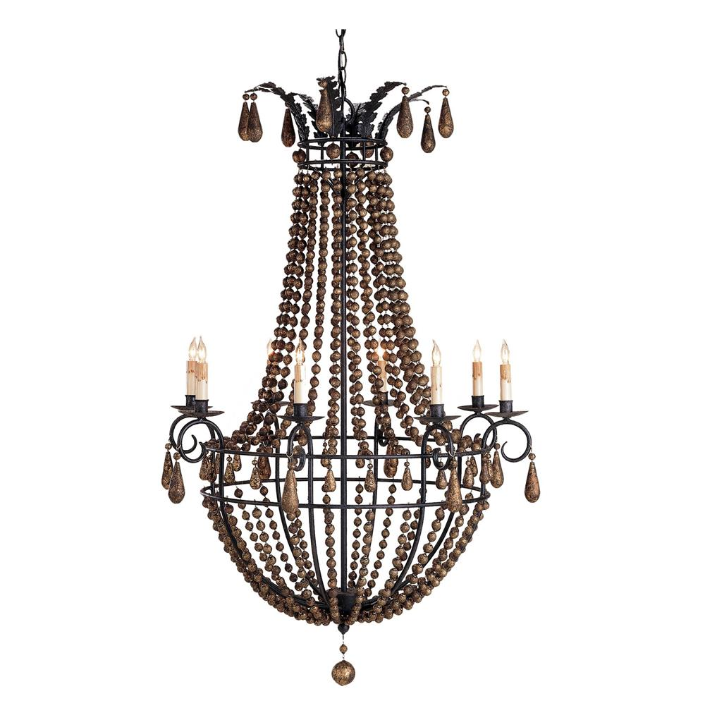 Classy white wood bead chandelier with Ceiling Light Fixture Furnishing for living room Ideas