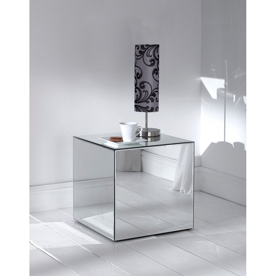 Comfy mirrored sideboard with knobs silver color and with decorative pattern design mirrored sideboard ideas