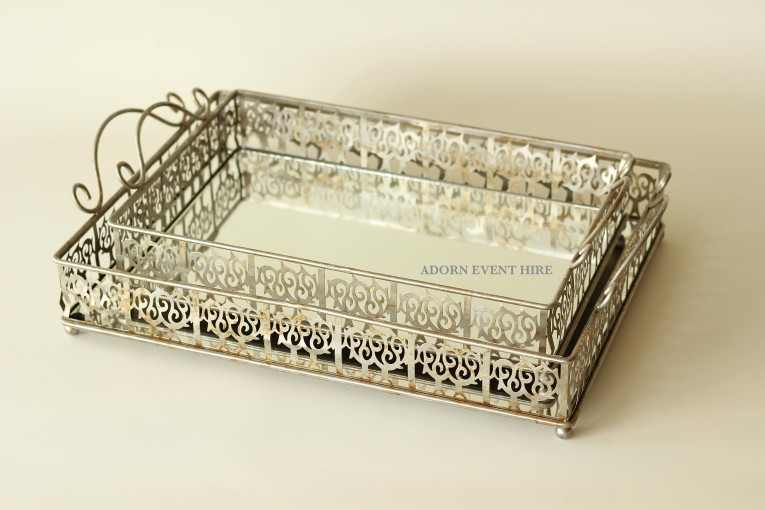 Cool Design Mirror Tray With Modern Design