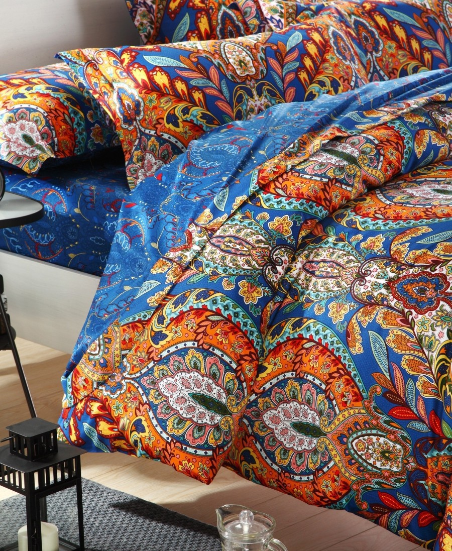 Creative Queen and King Bed size bohemian duvet covers with unique pattern for Bed room Furniture Ideas