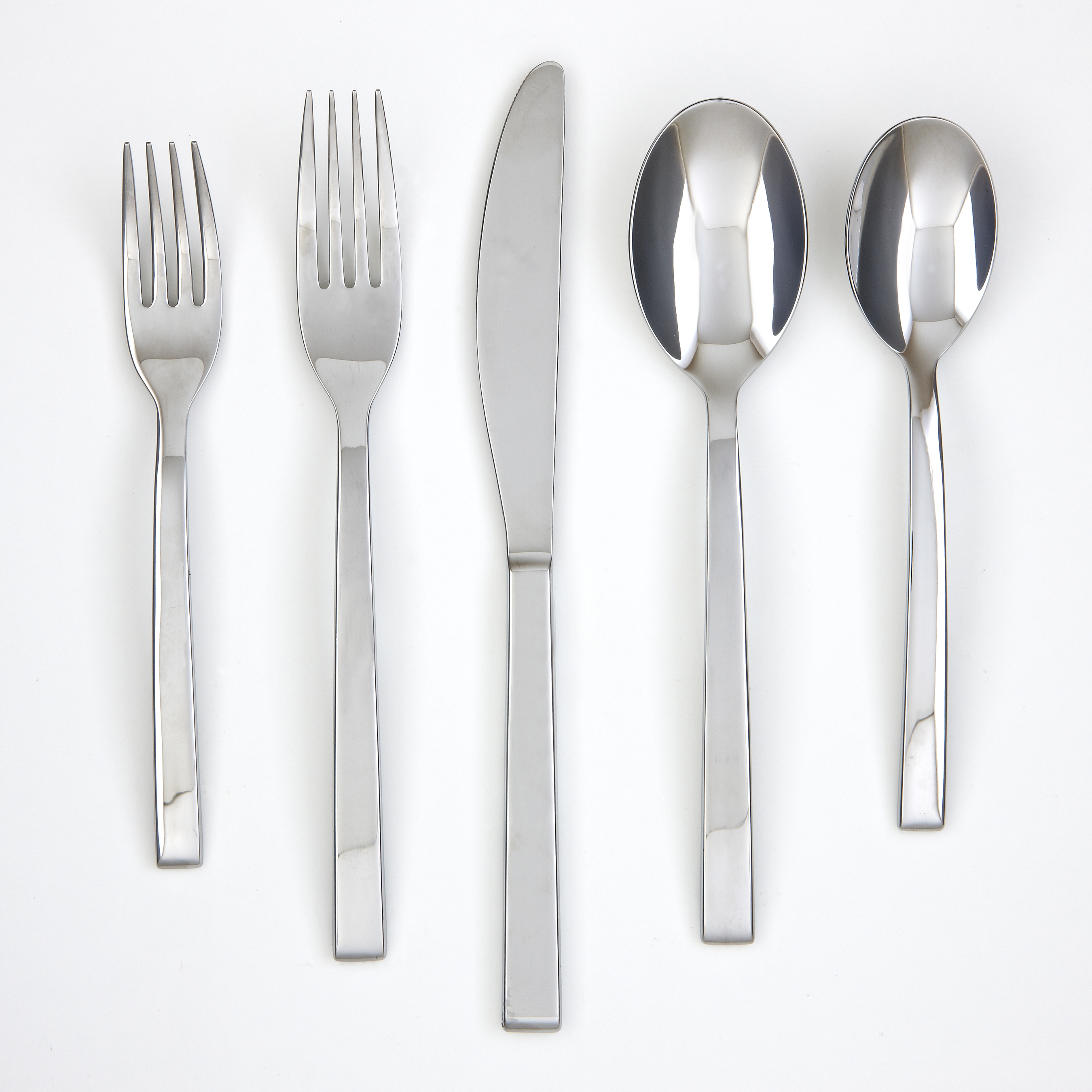 Creative cambridge flatware 5 pcs silverware flatware for kitchen or dining Ideas