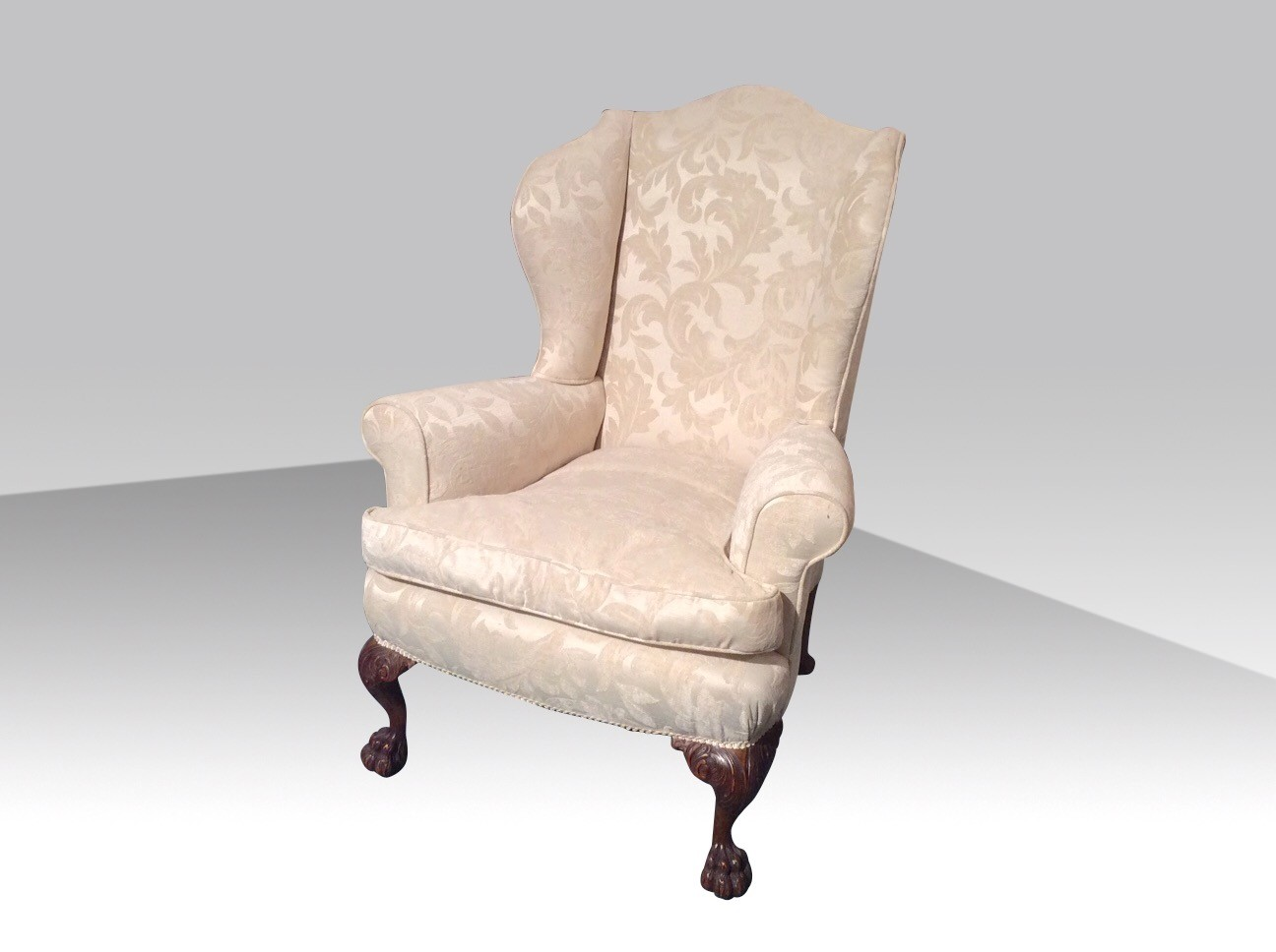 Creative Wing Back Chair With Solid Strong Wood Furniture Design For Dining  Chair And Living Room Chair Ideas