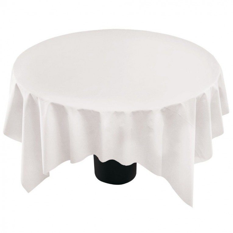 Cute Color 90 Round Tablecloths With Bright Interior Colors For Dining Room Furniture Ideas