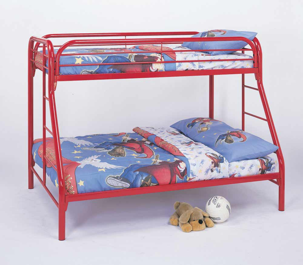 Cute cheap bunk beds for kids with area rugs and laminate flooring combined with picture on the wall for kids bed room ideas