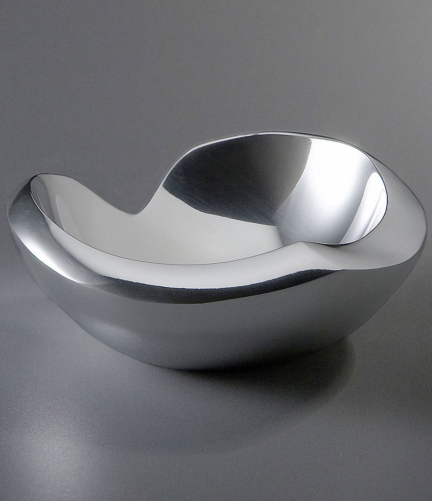 Dazzling nambe bowl design dining ware nambe bowl serveware plus silverware ideas