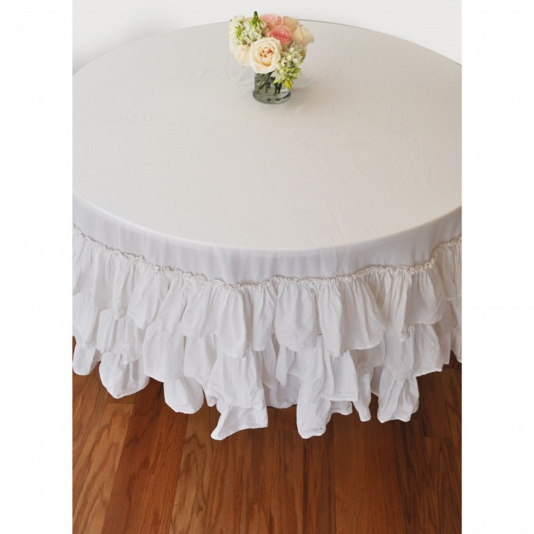 Elegant Color 90 Round Tablecloths With Bright Interior Colors For Dining Room Furniture Ideas