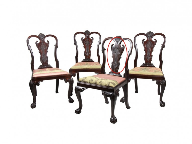 Enchanting Chippendale Chairs With Solid Strong Source With Fascinating Design For Living Room Ideas