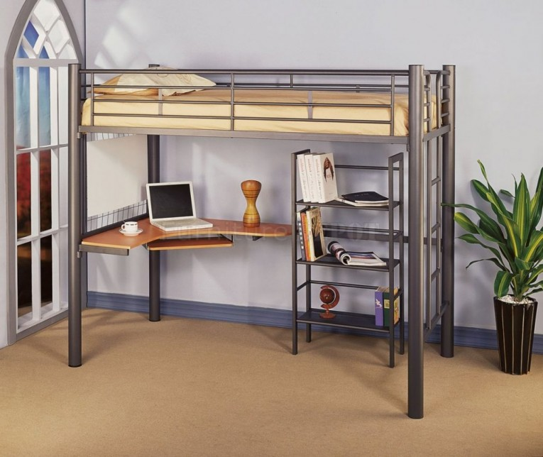 Enchanting Cheap Bunk Beds For Kids With Area Rugs And Laminate Flooring Combined With Picture On The Wall For Kids Bed Room Ideas