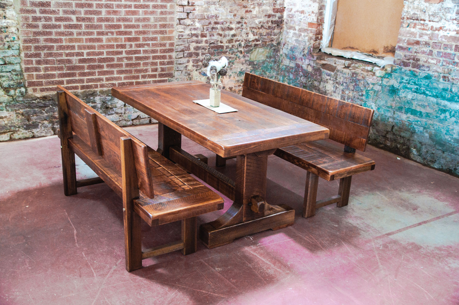 Home Accessories: Wondrous Old Brick Furniture For Home Furniture Ideas