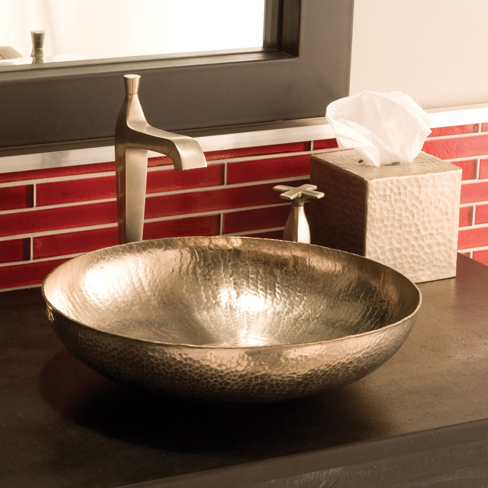 Endearing copper vessel sinks with towel and faucets plus wastafel for bathroom ideas