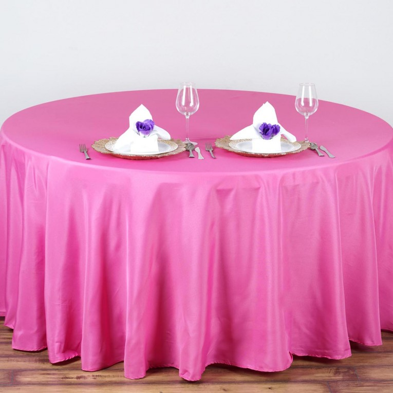 Engaging Color 90 Round Tablecloths With Bright Interior Colors For Dining Room Furniture Ideas