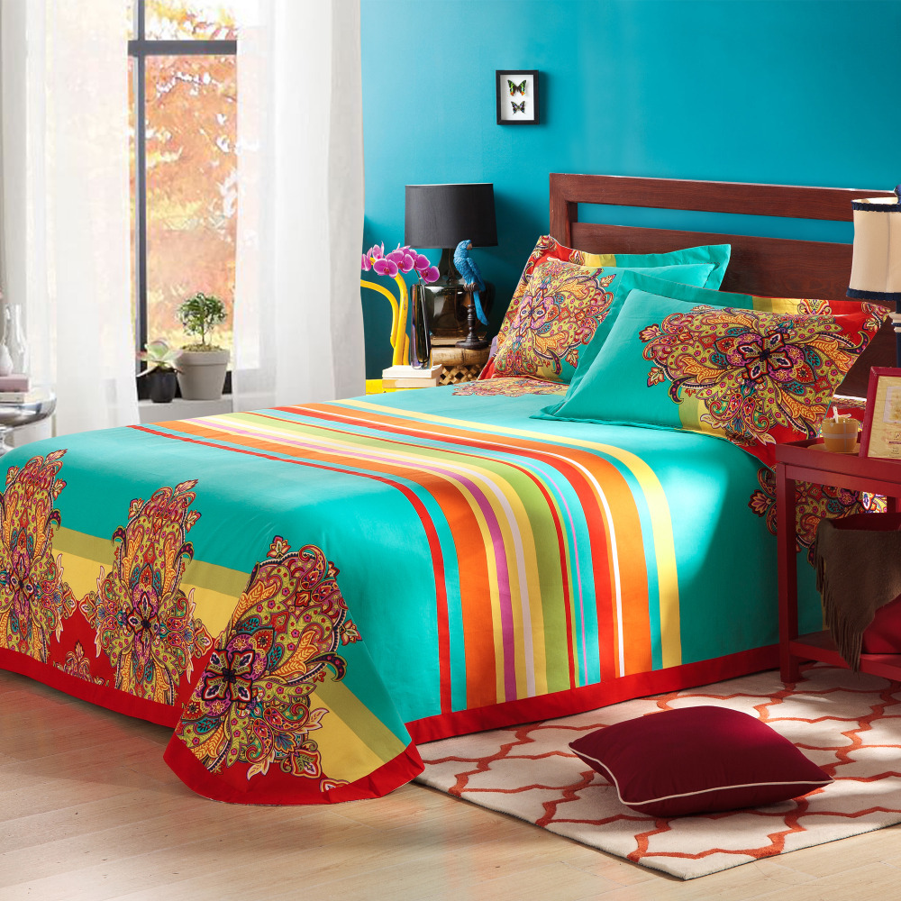 Engaging Queen and King Bed size bohemian duvet covers with unique pattern for Bed room Furniture Ideas